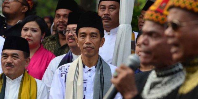 Jokowi at Jakarta