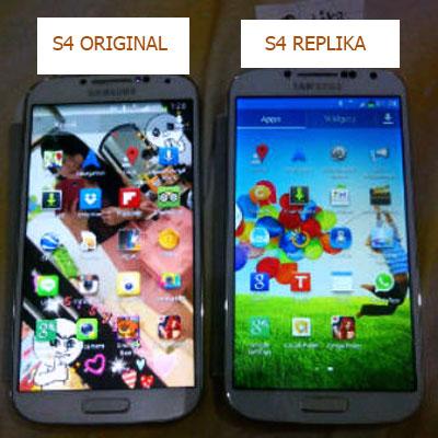 Beda Fisik Galaxy S4