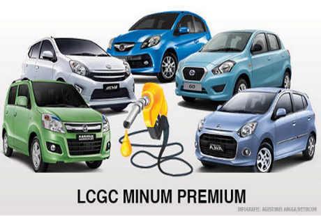LCGC pakai Premium
